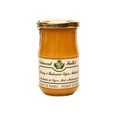 Honey Balsamic Mustard Fallot French Miel et Vinaigre Balsamique Mustard 7oz jar Three -- More details can be found here: at Cooking Ingredients.