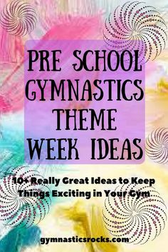 11 Great Theme Week Ideas for Fall and Winter to Keep Gymnastics Class Fun and Exciting – Gymnastics Rocks!