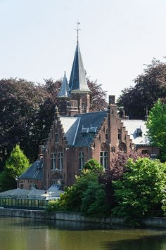 Belfont Hall, Bruges, West-Vlaanderen, Brugge, Belgium