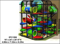 Church Children Ministry Indoor Playground Equipment