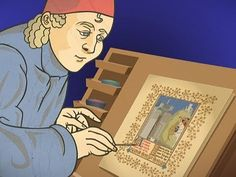 The Structure of a Medieval Manuscript. For more than a thousand years all manuscripts were written and illustrated by hand. By the Middle Ages, books were being made by folding sheets of parchment, arranging them into gatherings, and assembling and binding them together. This animation illustrates how medieval books were constructed--a feat of engineering that remains essentially the same today.