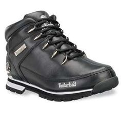 Timberland Boots Mens Eurosprint 2 Black Leather