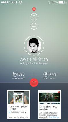 thumbnail images below, app store or DYD?  App Mockup by Ghulamali