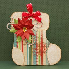 Bo Bunny: Christmas Decor using a Mini Album