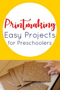 FreshlyPlanted: Easy Printmaking Art Lessons for Kids Art Lessons For Kids, Art Lessons Elementary, Projects For Kids, Art For Kids, Art Projects, Crafts For Kids, Kid Art, Kindergarten Art, Preschool Crafts