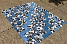 Quilting is more fun than Housework...: Zig Zag Quilt Revisited