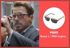 Police Neymar Jr. 1 NVAH Sunglasses (Modified) as seen on Tony Stark / Iron Man in Captain America: Civil War   TheTake