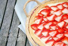 tarta fresas #pie #tarta #postre