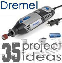 35 Projects Using Your Dremel. (more than 20 ways.) For when I get my Dremel this xmas! Dremel Werkzeugprojekte, Dremel Wood Carving, Dremel Rotary Tool, Dremel Engraver, Carving Tools, Dremel Tool Projects, Diy Projects To Try, Wood Projects, Dremel Ideas