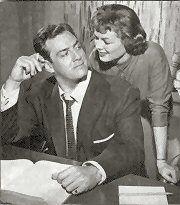 Raymond Burr and Barbara Hale of 'Perry Mason'