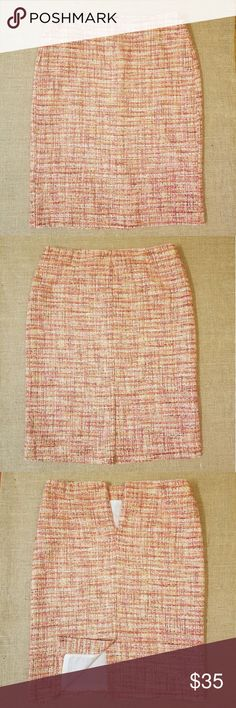 NWT! Talbots Tweed Pencil Skirt. New! Never worn. No defects. Please check all pictures. Talbots Skirts Pencil