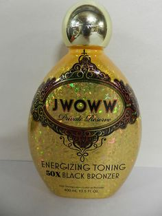 $90 RV Jwoww jwow Private Reserve 50x Toning Black Bronzer Tanning Bed Lotion | eBay