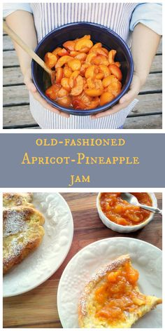 No need for pectin in this old-fashioned apricot-pineapple jam! Only 1/2 cup sugar for every 2 pounds of fruit. For best flavor, make sure to use fruit that is peak in season. Delicious in crepes or on homemade biscuits.