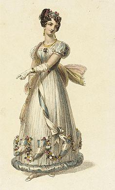 Fashion Plate (Ball Dress)  Rudolph Ackermann  June 1, 1826