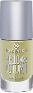 hello autumn - lakier do paznokci 03 charlie seen in green - essence cosmetics