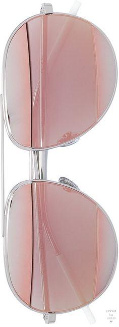 DIOR EYEWEAR  pink lens aviator sunglasses