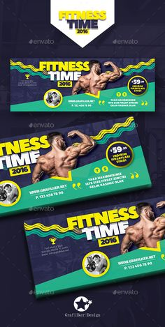 Fitness Facebook Time Cover Template PSD, InDesign INDD. Download here: http://graphicriver.net/item/fitness-time-cover-templates/16524276?ref=ksioks