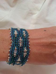 Tutorial Herringbone Weave Bracelet van RDVIVAJEWELRY op Etsy