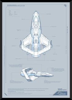 Citizen spotlight - Star Citizen Poster - by Olaf - Origin 300 Series - Roberts Space Industries Spaceship Design, Spaceship Concept, Concept Ships, Concept Cars, Spaceship Interior, Spaceship Art, Star Citizen, Science Fiction, Space Fighter