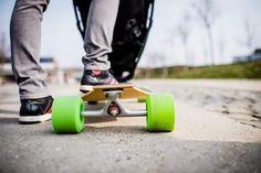 For Adrenaline Lover Parents – Longboard Stroller