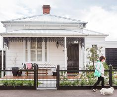 A modern-classic Victorian cottage renovation.