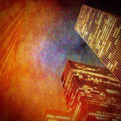 Friday night lights #nyc #newyorkcity  (at 1221 Avenue of the Americas)