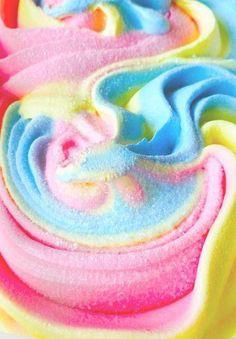 Пастель цветные конфеты раздавить