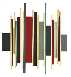 original geometric abstract painted wood wall sculpture title : 'SOUNDWAVE NO Modern painted wood wall sculpture in deep red, grays, charcoal, n. Modern Artwork, Modern Wall, Painted Wood Walls, 3d Wall Art, Modern Artists, Sound Waves, Wall Sculptures, Custom Art, Painting On Wood