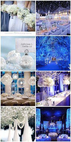 Idée mariage hivernal, romantique, rêve et féérie