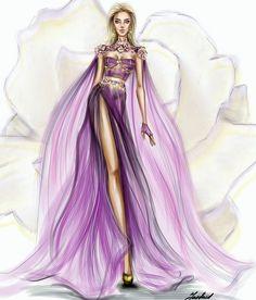 with Couture light dress design. Fashion Art, Fashion Graphic, Fashion Images, Love Fashion, Fashion Beauty, Girl Fashion, Fashion Illustration Dresses, Fashion Illustrations, Light Dress