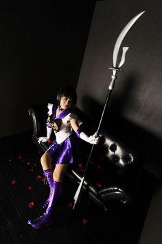 Sailor Saturn cosplay