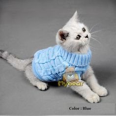 Fashionable Knitted Pet Sweater