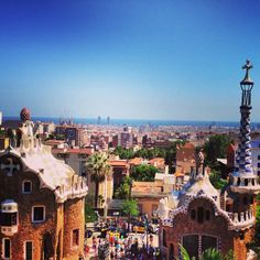 Parc Güell in Barcelona, Cataluña - Kyle's mom recommended