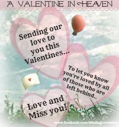 Happy Valentine's Day in Heaven ...  Mommy and Daddy love you so Allie Rose!