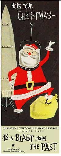 vintage christmas poster 1 by erin.hollingshead, via Flickr