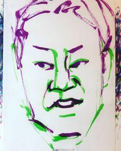 "torao fujimoto on Instagram: ""#abesadao #阿部サダヲ #actor #俳優 #大人計画 #グループ魂 #破壊 #いだてん #田畑政治 #寄生獣 #ミギー #19700423 #birthday #誕生日 #1minut #1分 #1mindraw  #一分描画 #portrait #似顔絵…"" Fictional Characters, Instagram, Fantasy Characters"