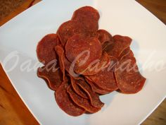 Cooking with love  !  : Cipsuri crocante de pepperoni si bacon de curcan (...