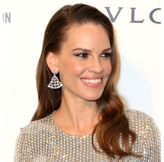 Oscar Party 2016: Best Hairstyles - Hilary Swank