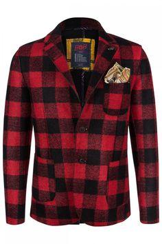 BOB Herren Sakko Schwarz/Rot | SAILERstyle Bob, Shirts, Blazer, Fashion, Jackets, Moda, Bucket Hat, Fashion Styles, Bob Cuts