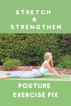 Posture Exercises, Back Exercises, Fitness Exercises, Stretches, Pilates For Beginners, Better Posture, Flexibility Workout, Pain Management, Pilates Workout