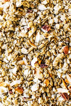 Naturally Sweetened Buckwheat Granola with Toasted Coconut - Loody's Kitchen Granola, Buckwheat Muffins, Old Fashion Oats, Types Of Flour, Bulk Food, Silicone Baking Mat, Toasted Coconut, Apple Crisp, Morning Food