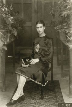 Artist Frida Kahlo is probably best known for her painted self portraits, but she also had a well-documented life on camera.