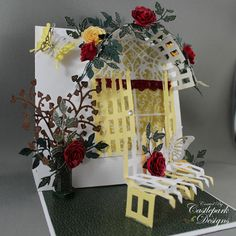 WOW ... what amazing detail on this lovely pop up card ... very impressive