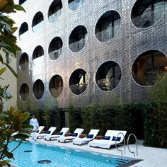 Dream Downtown Hotel by Handel Architects in New York City