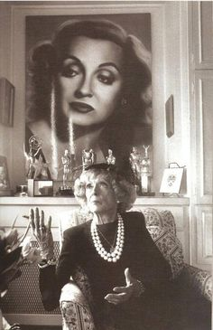 #BetteDavis #Actresses #1950-Current #Silent-1950 #Elderly #Icons in motion picture industry