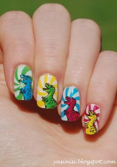 Inspired by Swanette nail art by Yasinisi