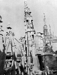 1943 Agosto Duomo di Milano Bombardato 8 | da Milàn l'era inscì