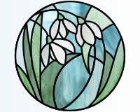 """Résultat de recherche d'images pour """"stained glass snowdrop"""""""
