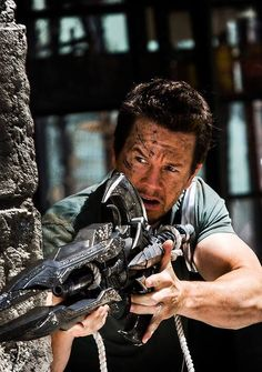 Mark Wahlberg as Cade Yeager in Transformers: Age Of Extinction