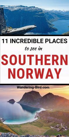 BEST places to see in Southern Norway Norway Travel- 11 breathtaking places to visit in Southern Norway! Norway places to see Norway Roadtrip, Roadtrip Europa, Norway Travel Guide, Europe Travel Guide, Hiking Norway, Trips To Norway, Us Travel Destinations, Places To Travel, Norway Map